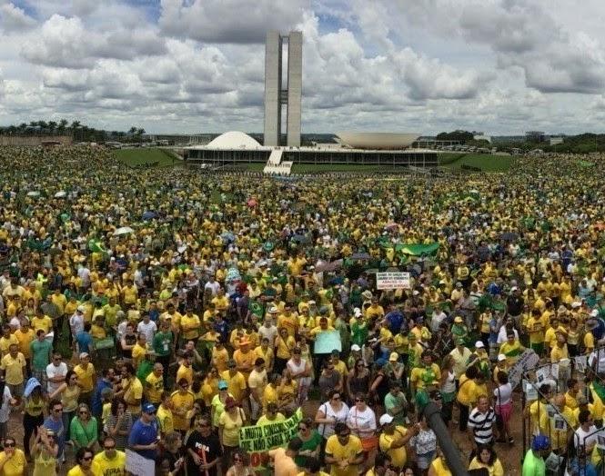 Manifestações Brasil