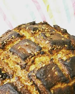 Honeyed rye loaf