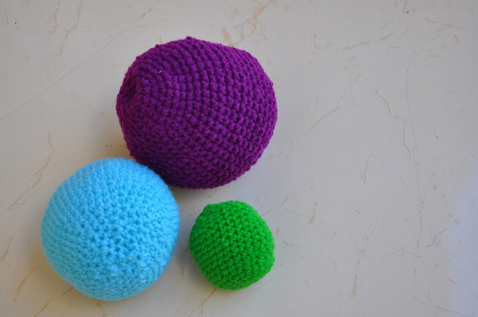Crochet Amigurumi Small Ball : Sukrithaa: Amigurumi Crochet Balls
