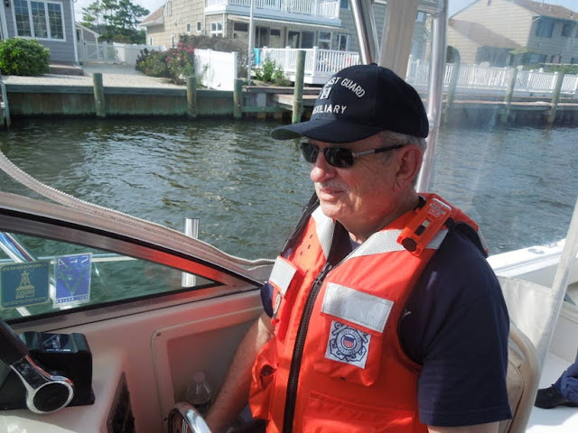 Paul Harren on the helm