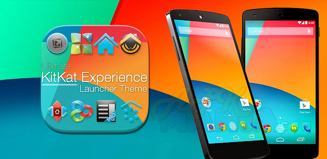 Download KitKat 4.4 Launcher Theme v1.97 APK