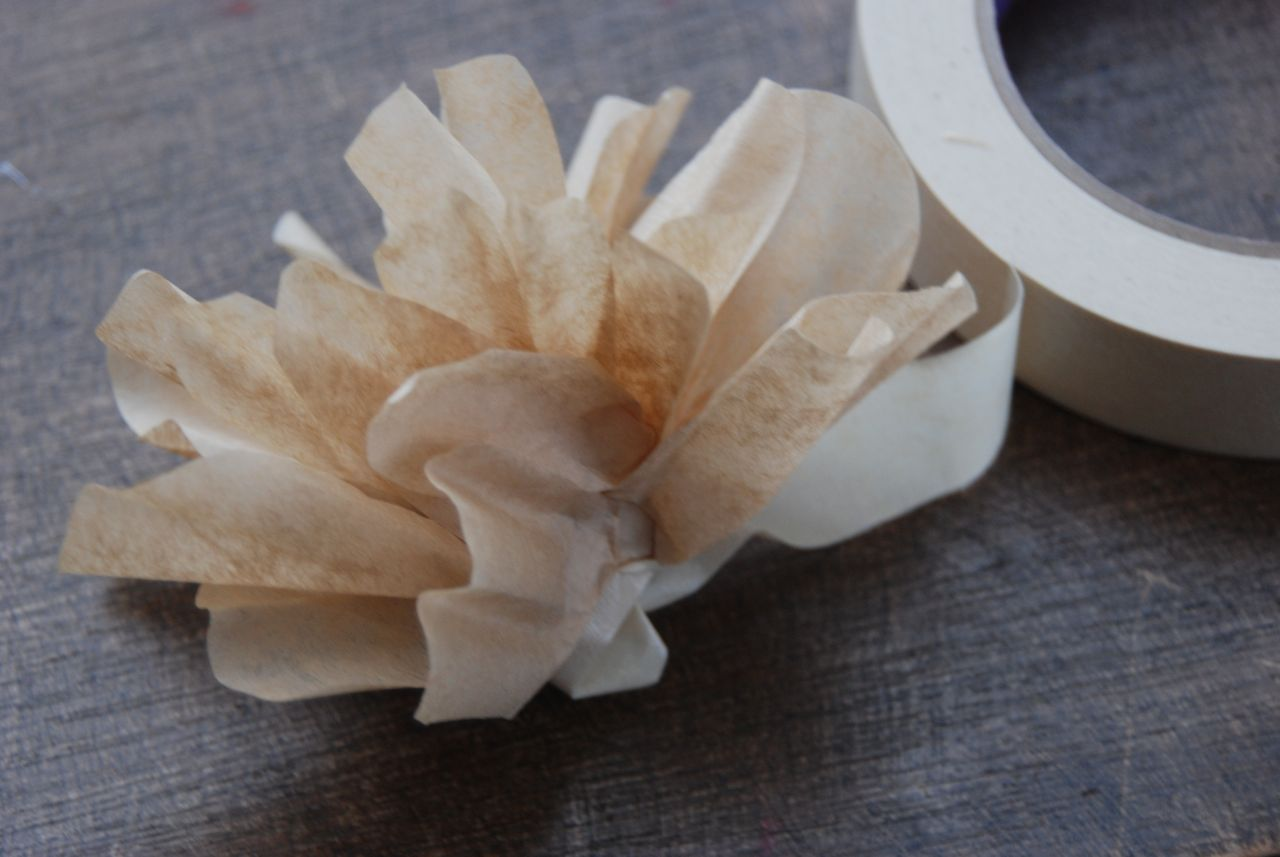 Wife Mother Gardener Coffee Filter Flower Wreath Tutorial aka Must Have
