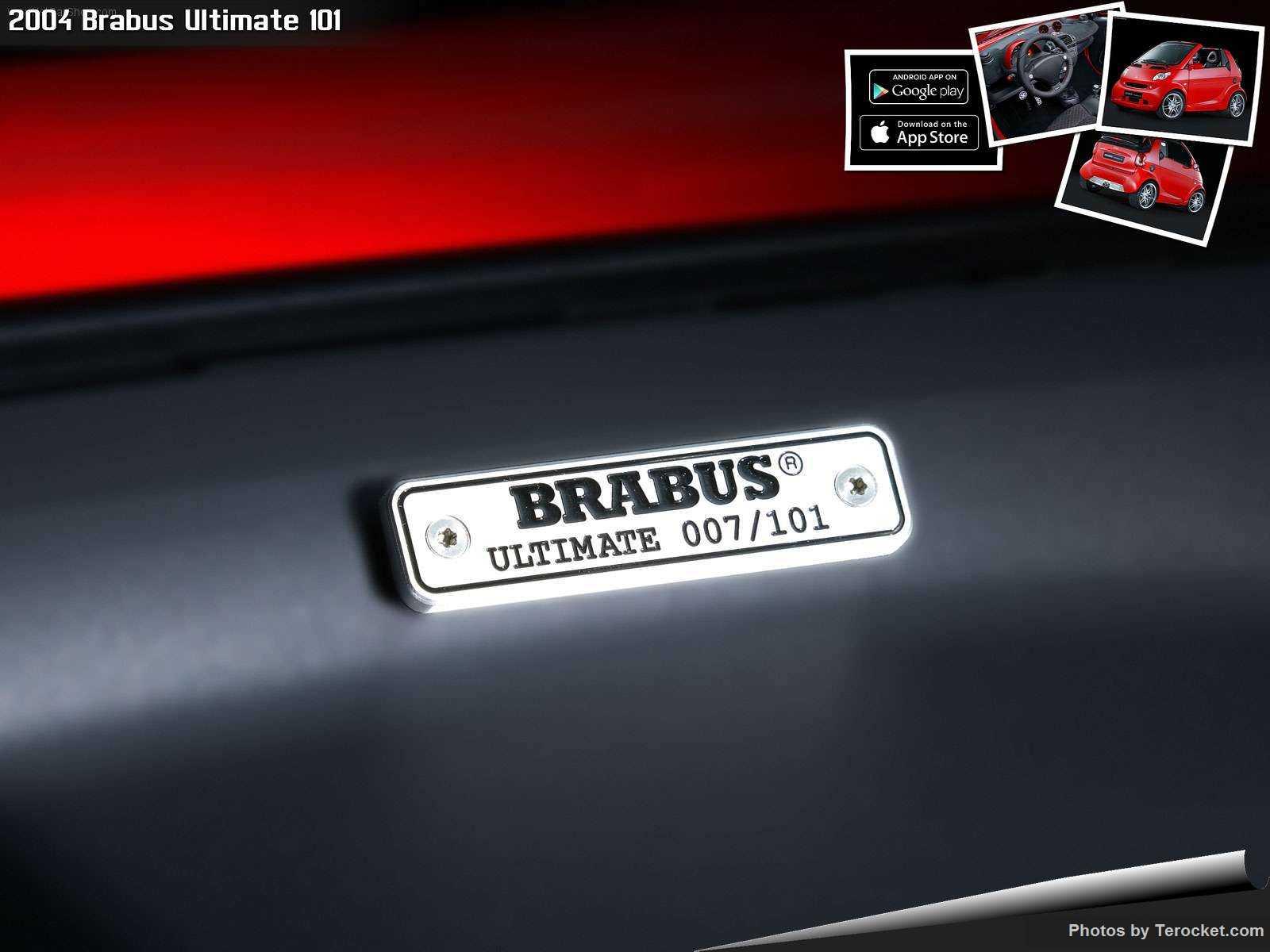 Hình ảnh xe ô tô Brabus Ultimate 101 2004 & nội ngoại thất