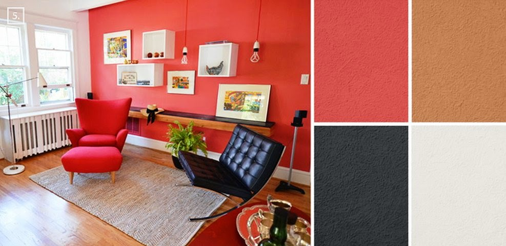 Wall paint colors matching for Colour matching chart living room