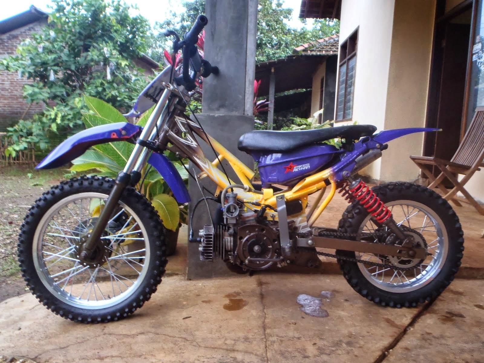 modifikasi motor f1zr trail