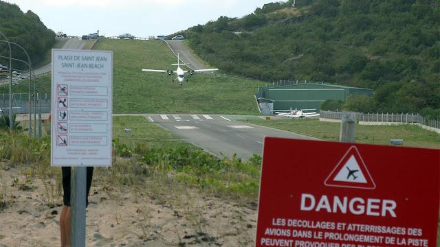 Aeropuertos más peligrosos: San Bartolomé