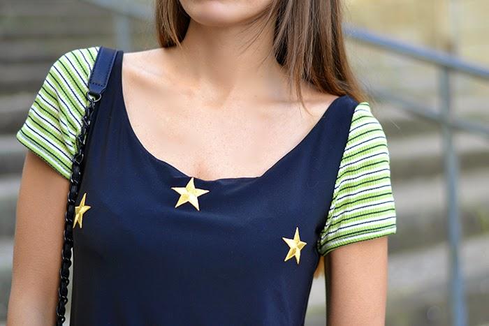 abito stelle righe