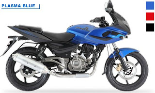 Bajaj Pulsar 220F Dual Colour - Plasma Blue with Black