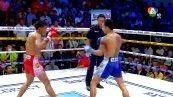 วิดีโอคลิปมวยไทย เพชร อ.พิมลศรี พบกับ หนึ่งเทพ ซากามิ (ศึกมวยไทย 7 สี วันอาทิตย์ที่ 22 กุมภาพันธ์ 2558)(คู่ที่สี่)(คู่เอก)