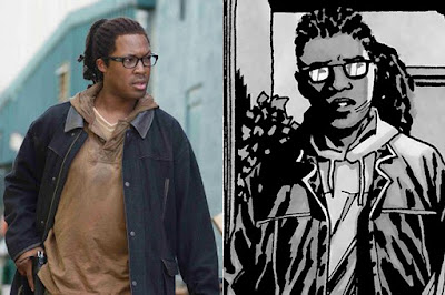 The Walking Dead - Heath (Corey Hawkins)