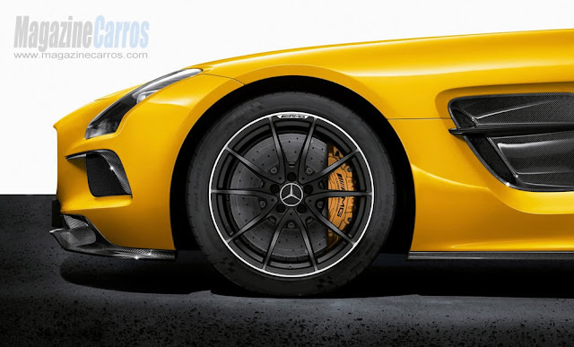 Roda do novo Mercedes-Benz SLS AMG Black Series 2014