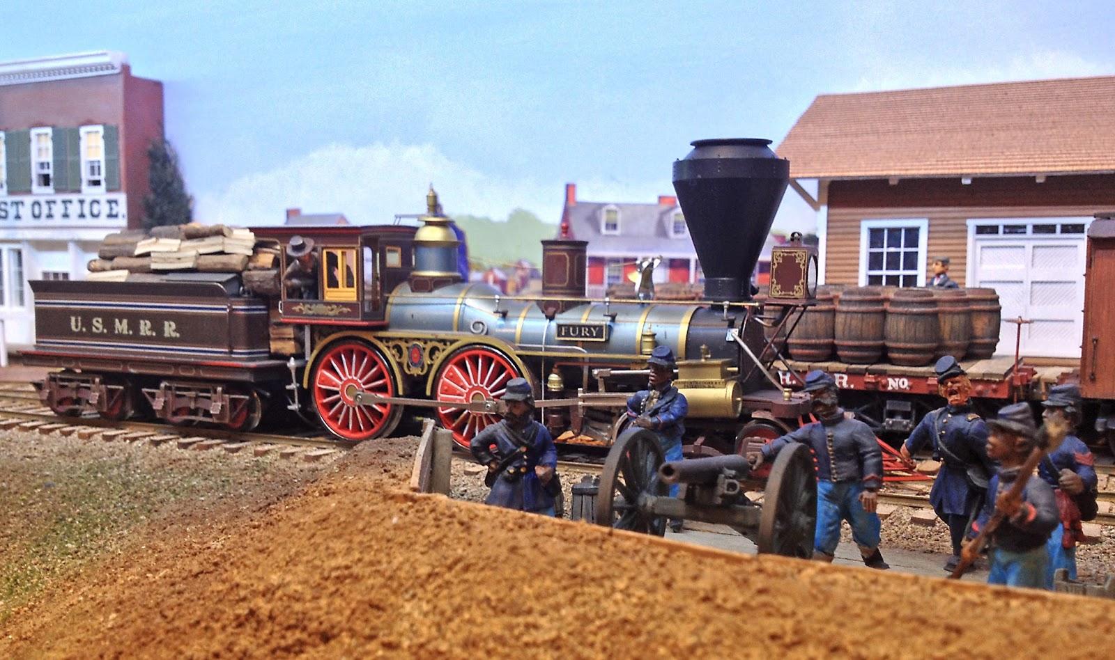 Us Military Railroad Virginia 1863