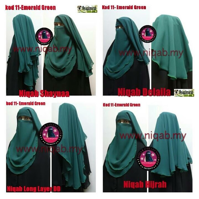 tudung labuh, niqab murah, niqab collection, butik niqab collection, niqab online, tudung labuh online