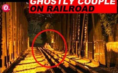 Hantu suami isteri di landasan keretapi
