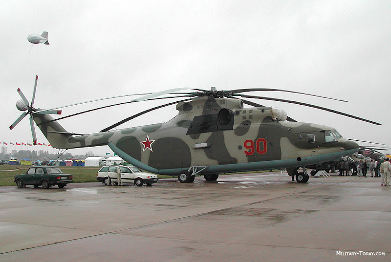 Mi-26 HALO Heavy-Lift Helicopter