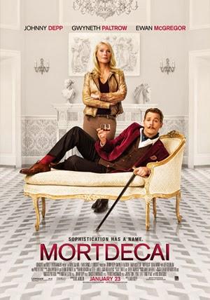 Mortdecai 2015 poster