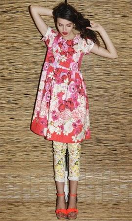 Isolda verão 2015 coleção Rouge vestido e calça