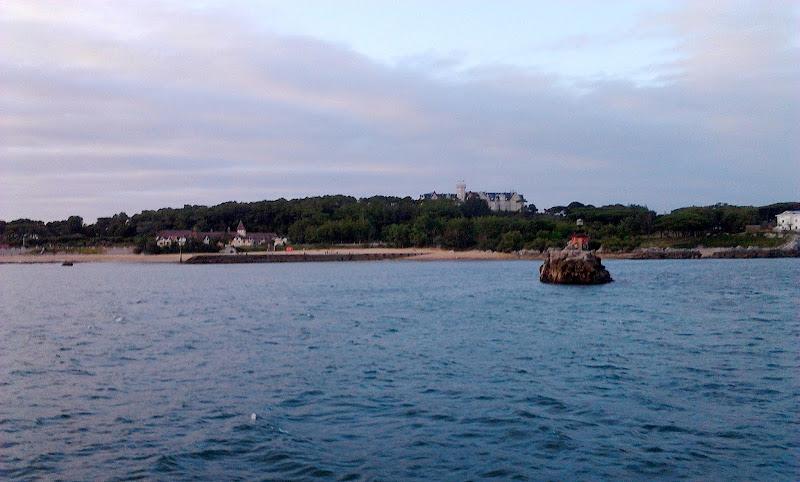 Isla de la Horadada en Santander