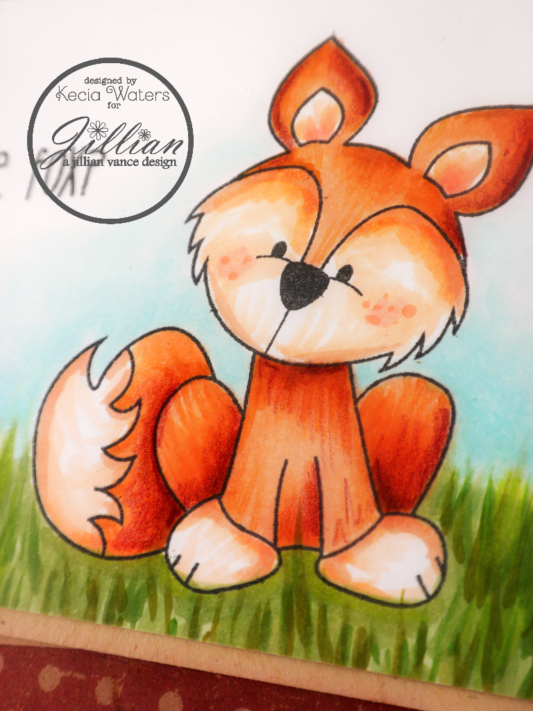 A Jillian Vance Design, Whimsie Doodles, Kecia Waters, Copic markers