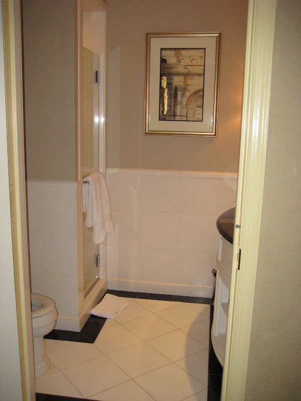 bathroom with double the shower space inspiration behind the design title=