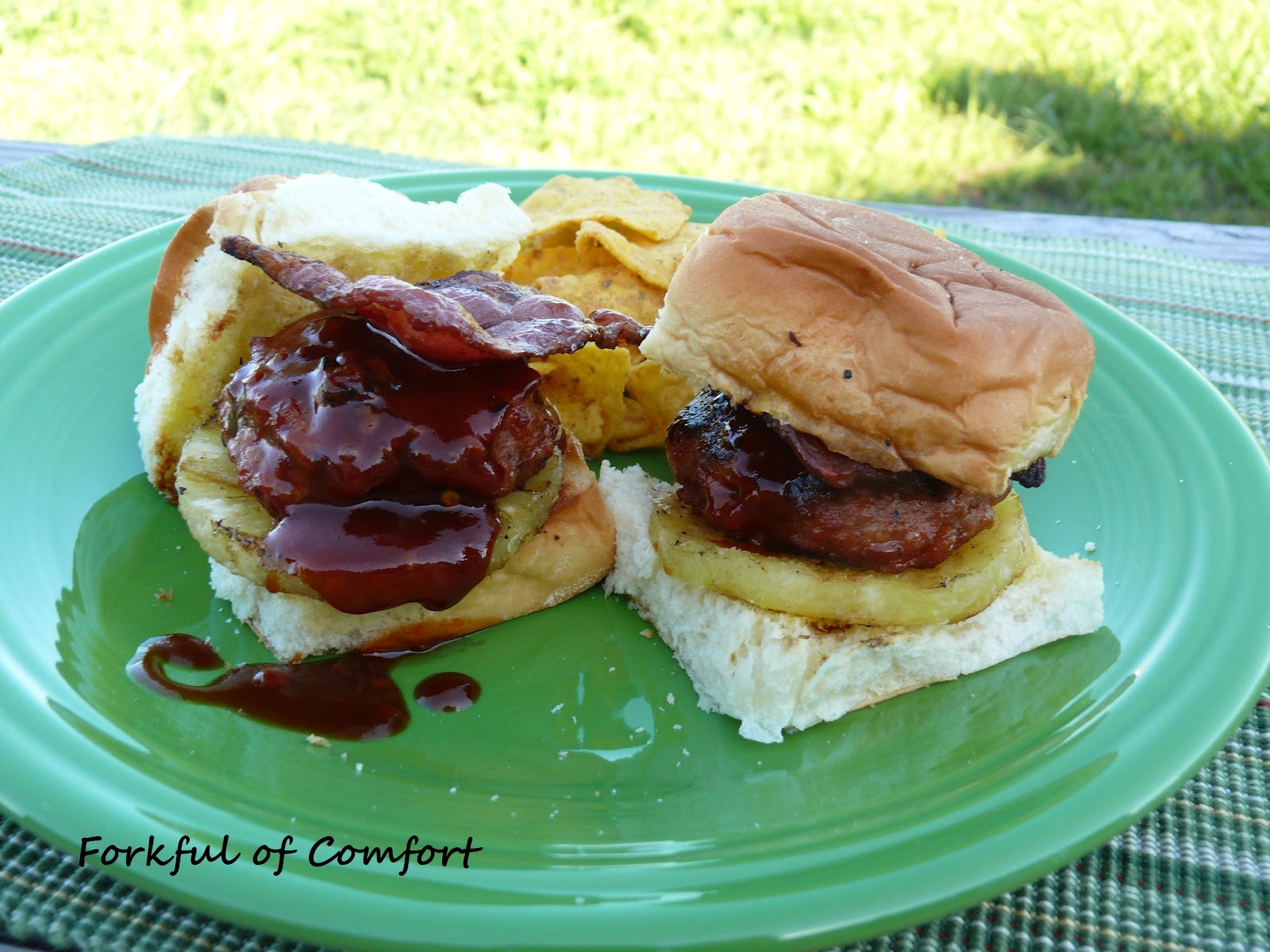 Hawaiian Burger Sliders