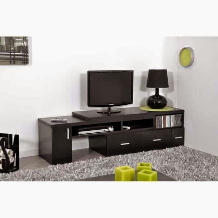 Meuble tv noir pas cher meuble tv - Meuble tv pas cher noir ...
