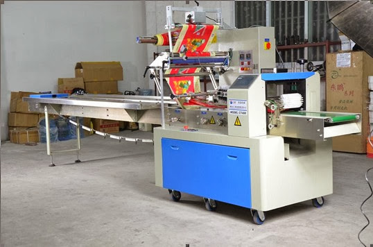 flow wrapping packaging machinery food packaging