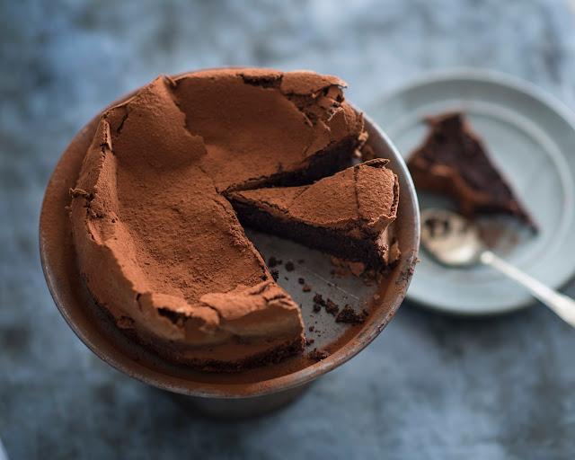 Recipe, Oxfam, Matthew Evans, Truffle Cake, Dessert,