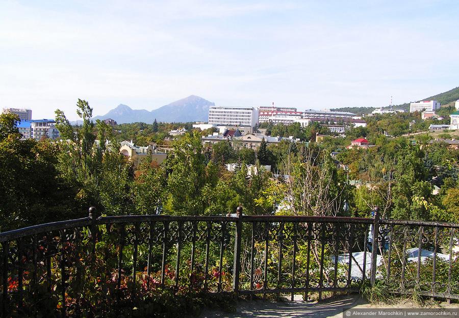 Вид со склона горы Горячей, Пятигорск