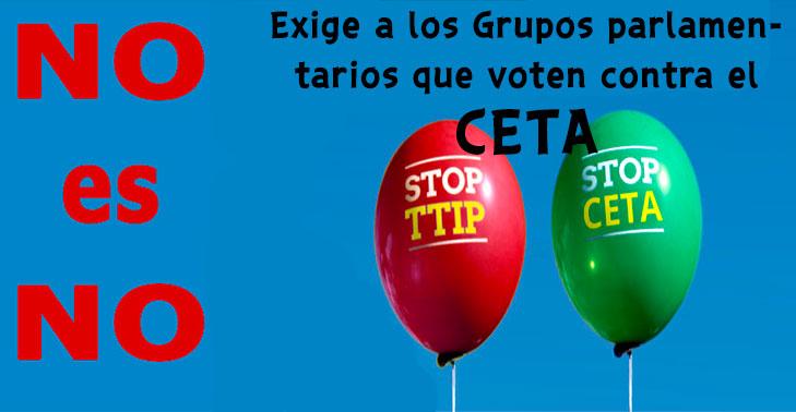 NO  AL  CETA       FIRMA Y DIFUNDE LA CARTA