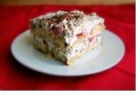 Chocolate Strawberry Tiramisu