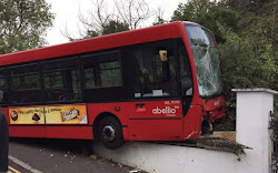 Lewisham: Route 484 Bus Crashes Into Front Garden Of Residential home