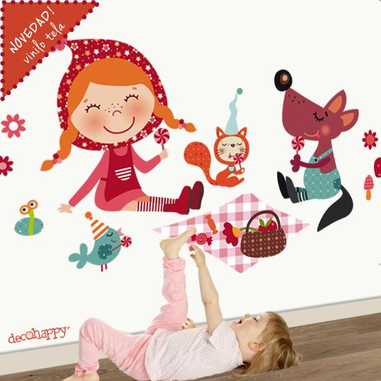 Vinilos infantiles vinilos infantiles de tela removibles - Vinilos infantiles tela ...
