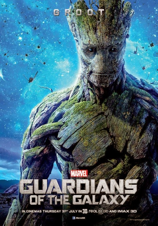 Guardians of the Galaxy International Character Movie Posters - Groot