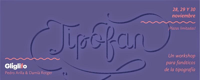 Tipofan de Santa Rita, para tipos fans de la tipografía