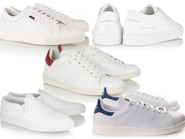 Top 5 All White Sneakers.