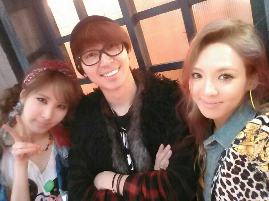 { 130103 } Sunny, Seohyun & Hyoyeon con Sim Jaewon 130103seohyo
