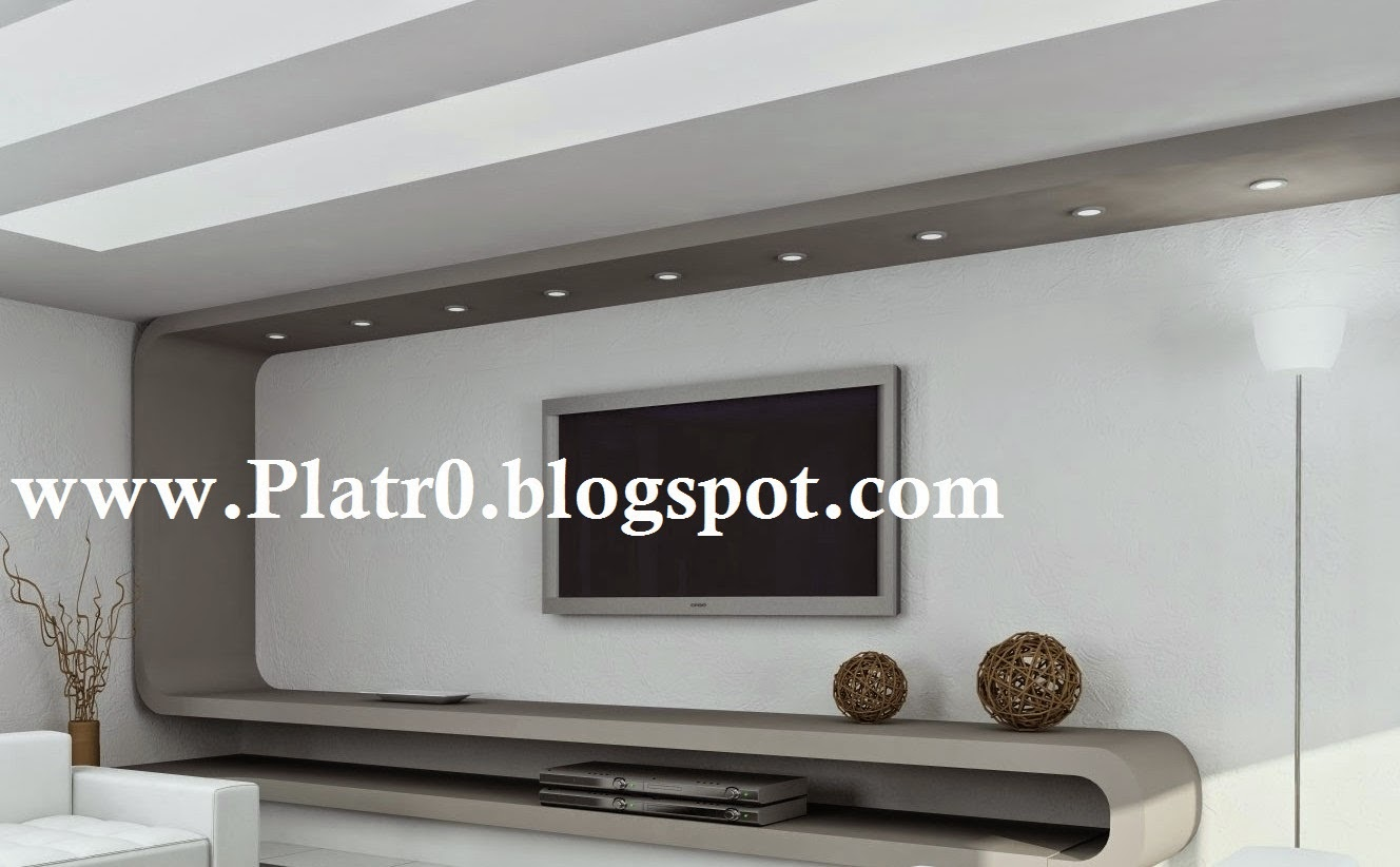 D coration salon placo for Decoration salon placoplatre