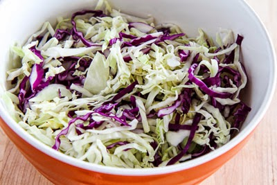 Kalyn's Kitchen®: Low-Carb Fish Taco Cabbage Bowl