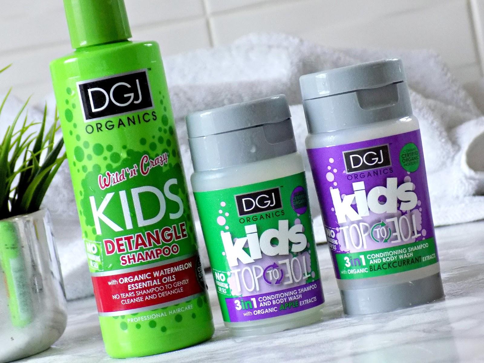 Makeup Revolution DGJ Organics kids shampoo