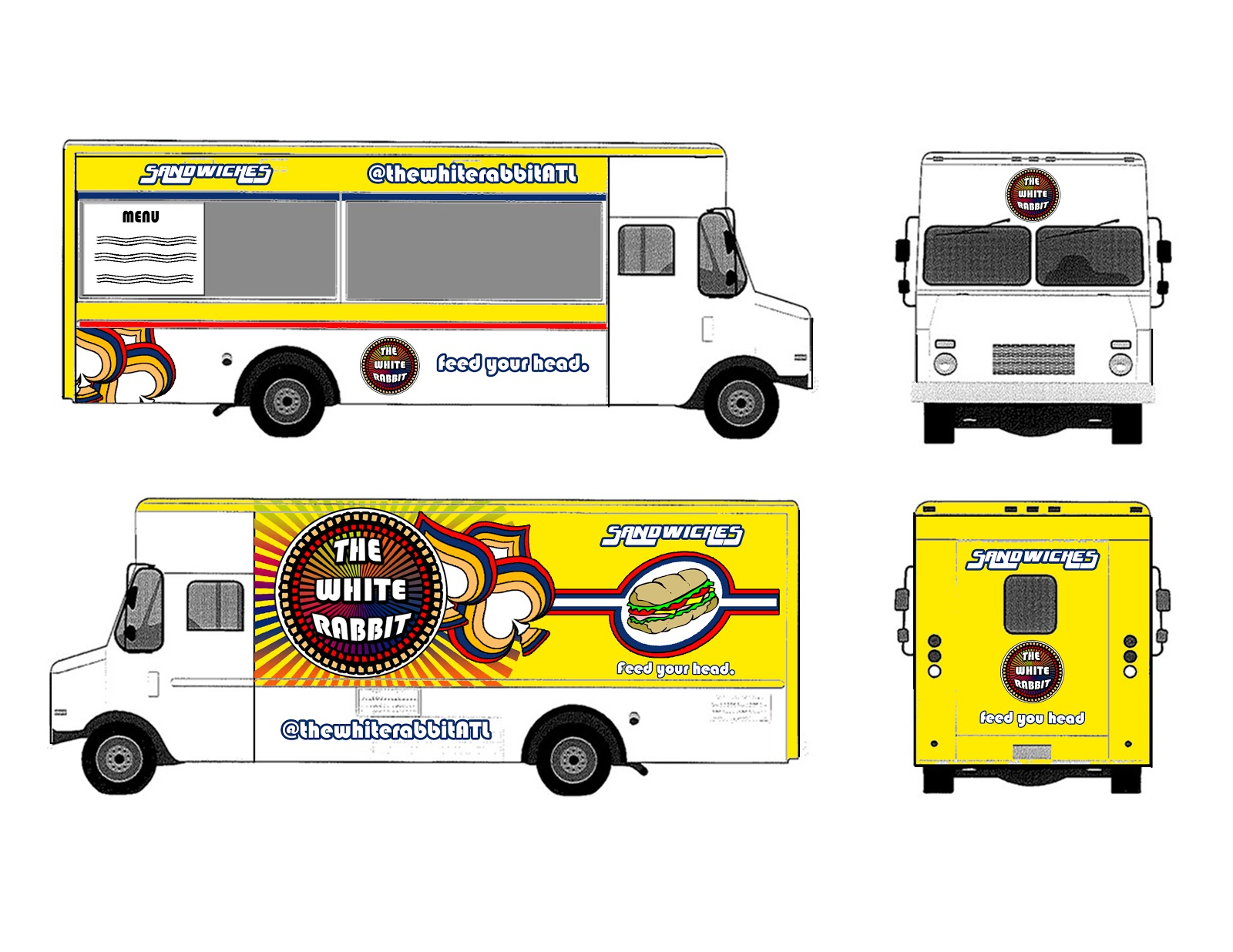 Graphic design archives food truck logo and truck design for How to design a food truck