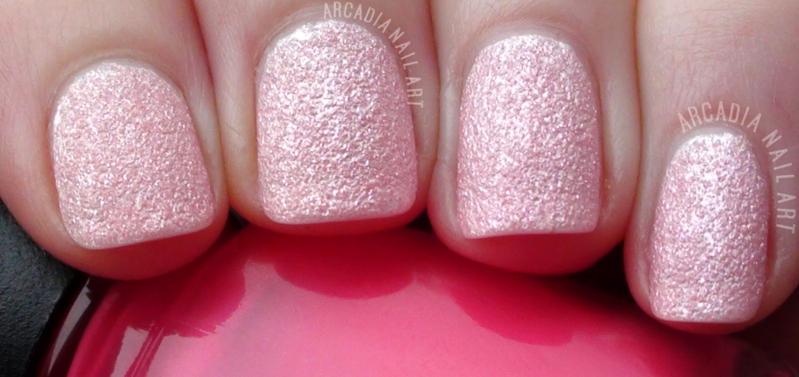 OPI Liquid Sand Pink Pussy Galore Review