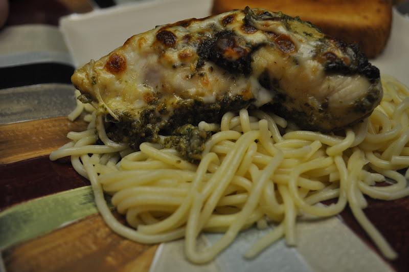 Easy Recipe For Baked Pesto Chicken Recipes — Dishmaps
