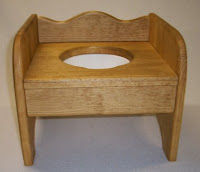 Little Denver Wooden Potty Chair