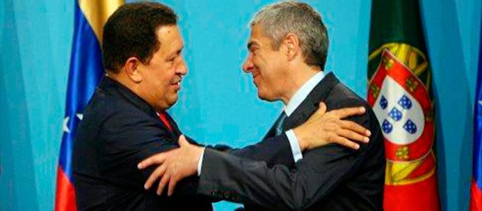 Chávez e Sócrates