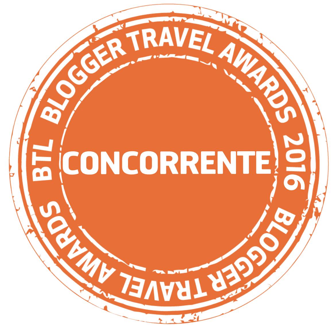 Blogger Travel Awards 2016