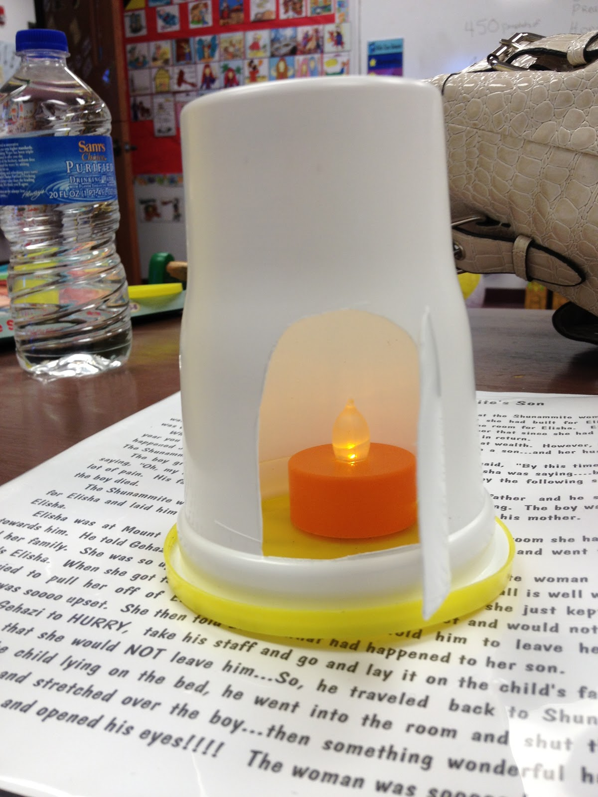 hands on bible teacher cookie container fiery furnace