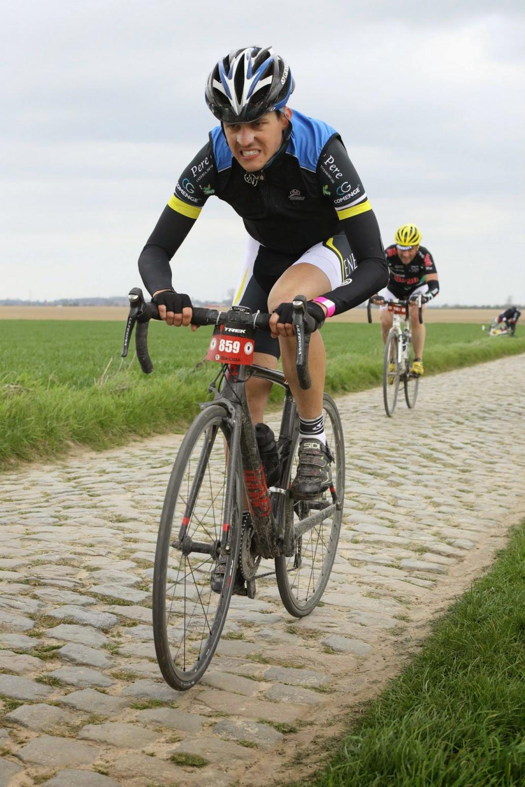 Xavier Rubión: Paris-Roubaix Challenge 2015