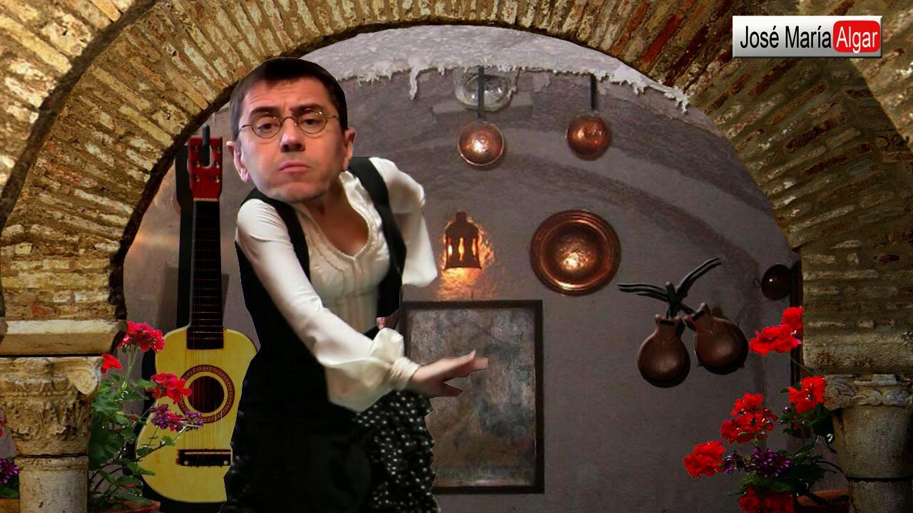 Monedero ha sido atacado por el camarero Casillas con un zapato