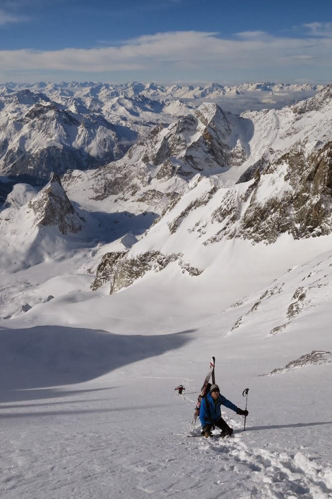 Glacier des Grands Couloirs.